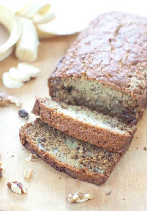 Recipe for Classic Banana Walnut Bread - Why mess with a classic? Banana Walnut Bread just how your mama likes it.