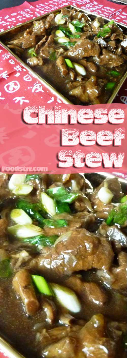 Recipe for Chinese Beef Stew - This hearty Asian dish is bound to warm you up on a cold winter's day.