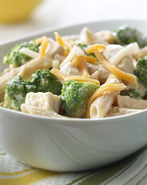Cheesy Chicken Penne