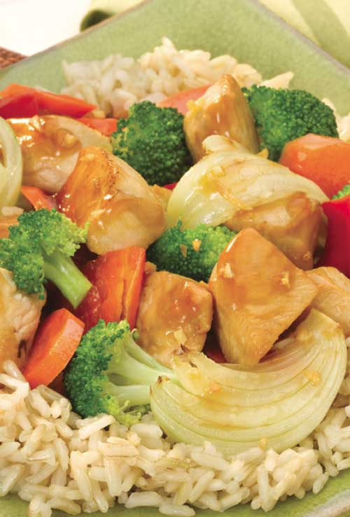 Sizzling Chicken and Vegetables