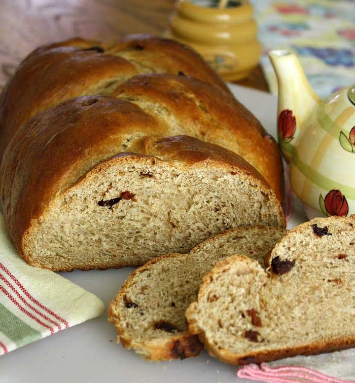 Cherry Challah Bread