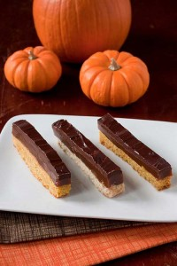 Homemade Twix Bars – Original or Pumpkin