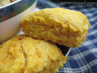 Apron Appeal: Vegan Sweet Potato Biscuits