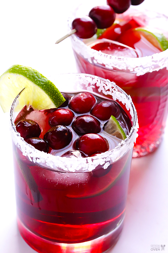 Cranberry Margaritas – Gimme Some Oven