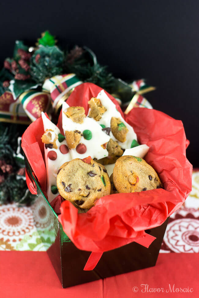 Holiday Chocolate Chip Cookie Bark – Flavor Mosaic