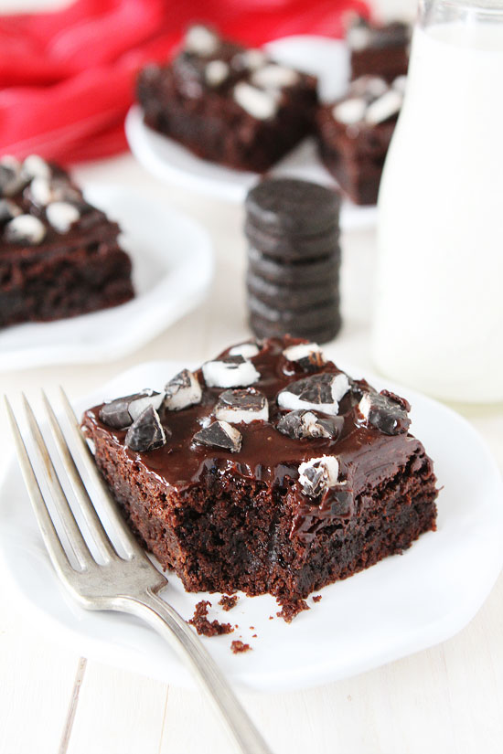 Peppermint Pattie Brownies | Two Peas & Their Pod