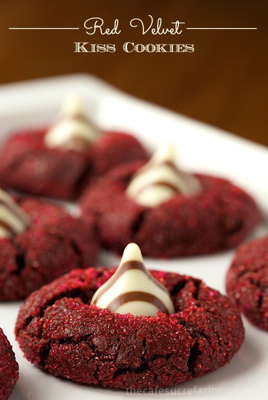 Red Velvet Kiss Cookies