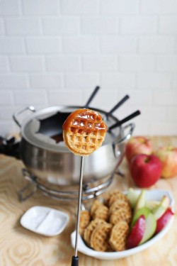 Salted Caramel Fondue – A Beautiful Mess