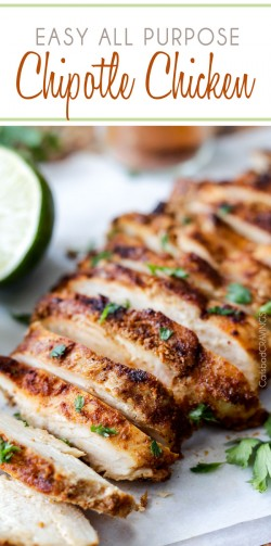 Easy All Purpose Chipotle Chicken